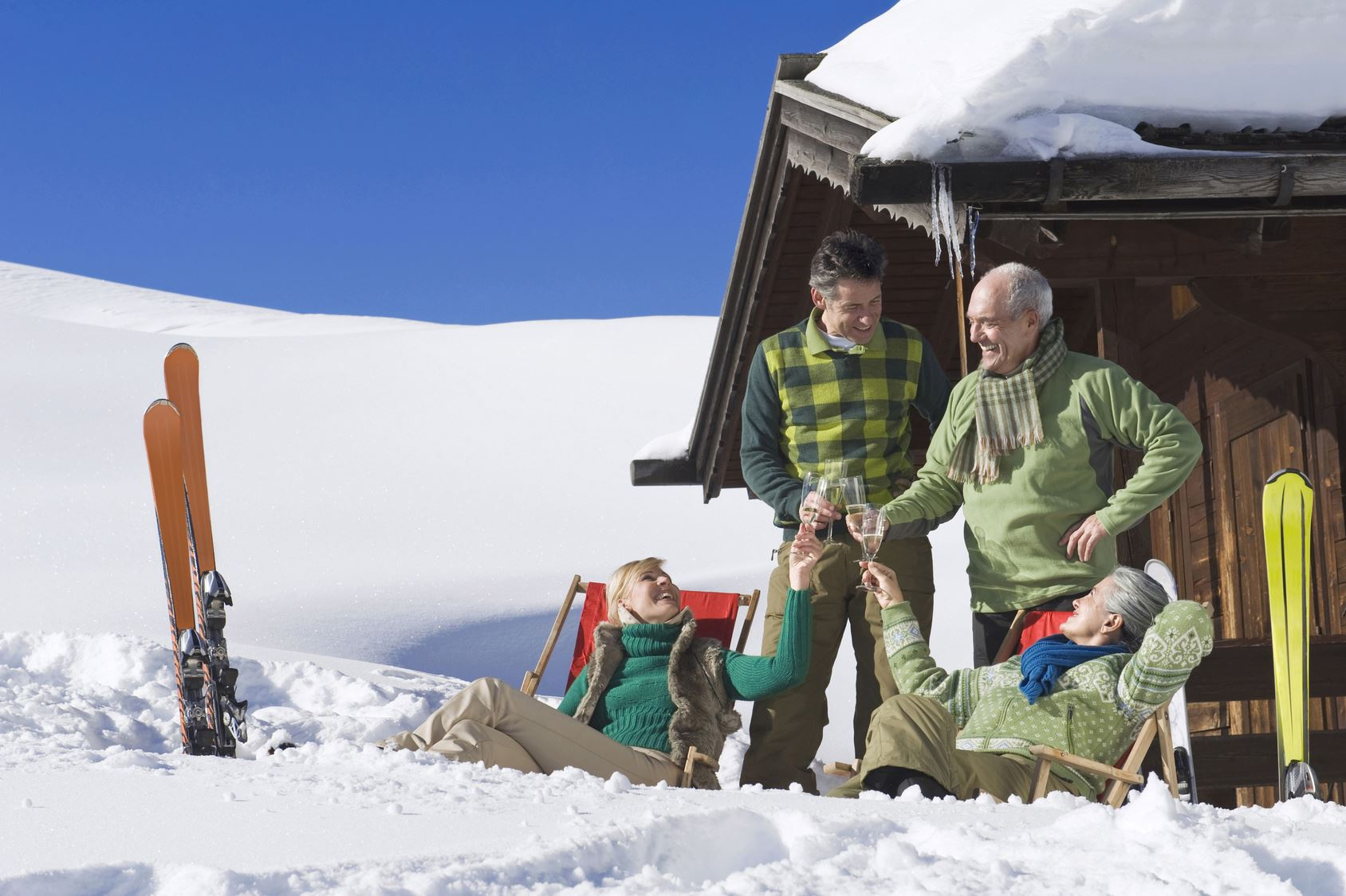 The oldies hit the slopes - From €948/pers