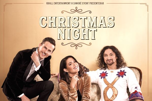 Konsertpaket 25 nov - Christmas Night 2017