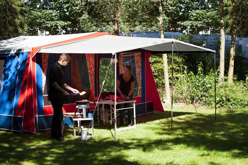 Glamping teltferie Hasle Camping