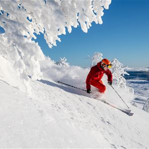 Skiers weekend package
