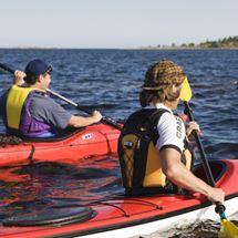 Gourmet kayaking