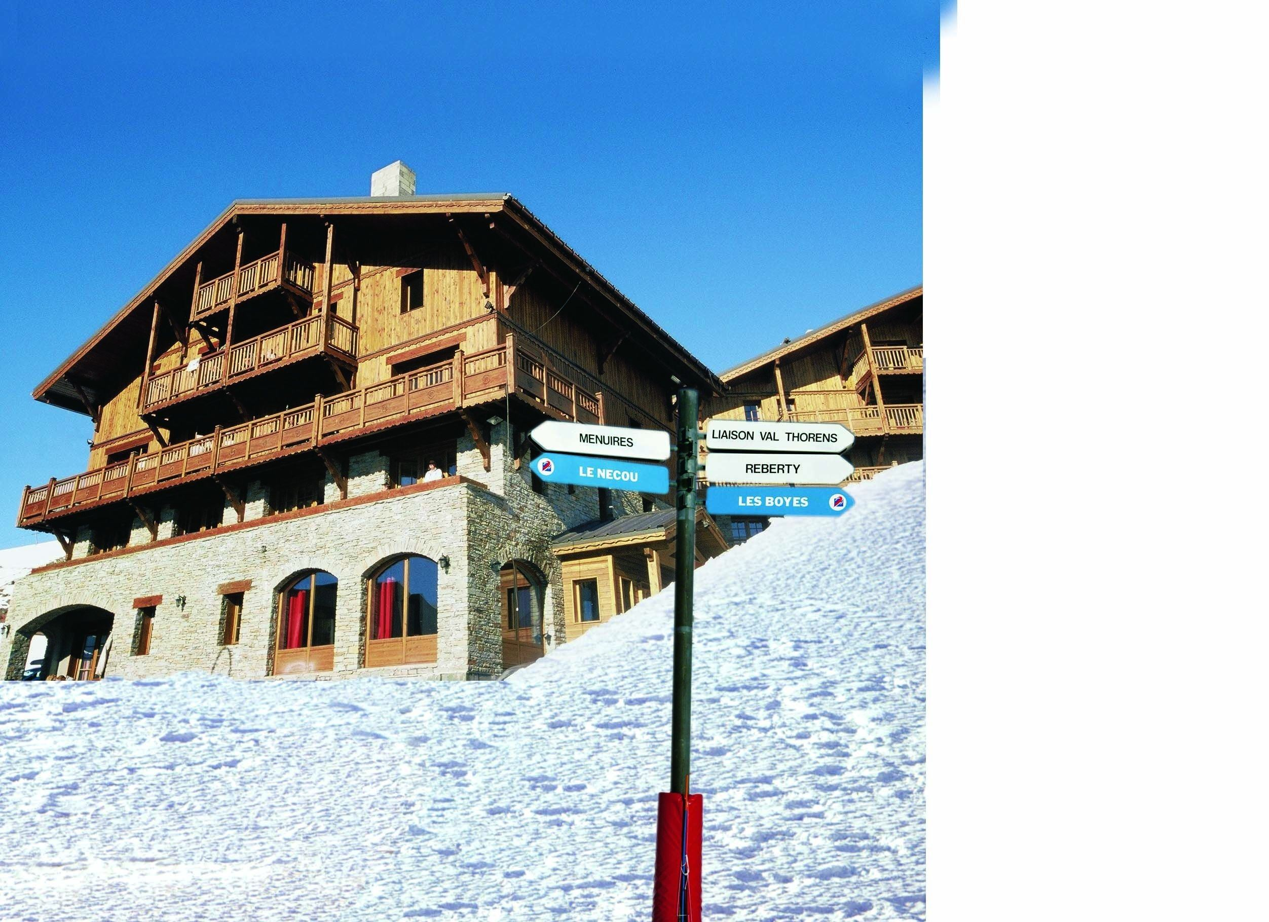 Résidence skis aux pieds / LES CHALETS DU SOLEIL CONTEMPORAINS (3,5 Flocons