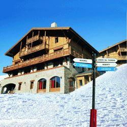 Résidence skis aux pieds / LES CHALETS DU SOLEIL AUTHENTIQUES (3,5 Flocons