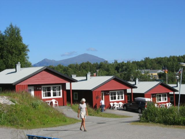 Tärnaby Fjällby cabins