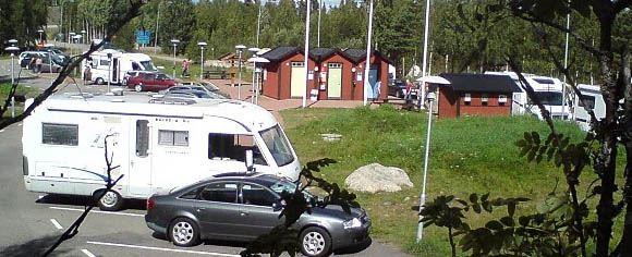 Ångersjön Wilderness Camping
