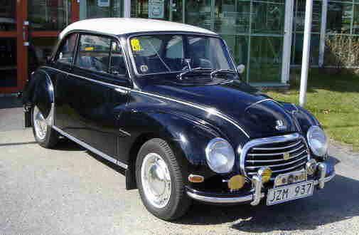 Bil på Ådalens Veteranbilsmuseum