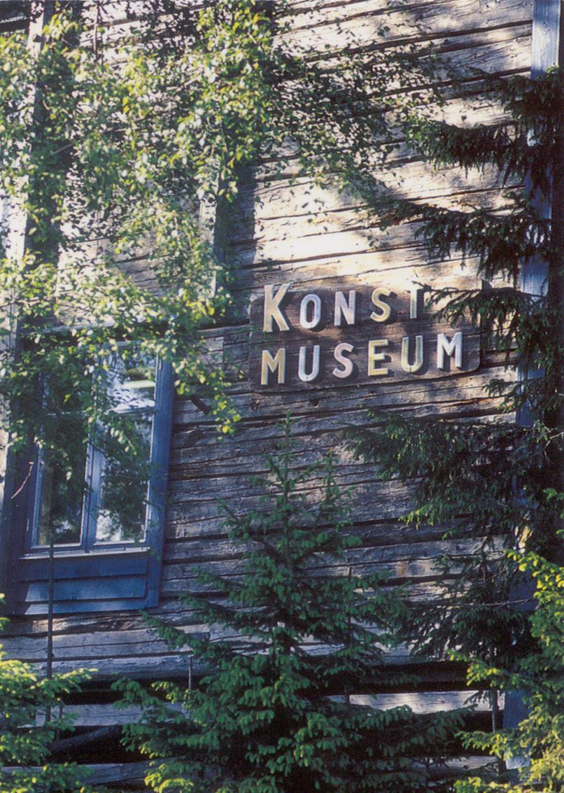 © Kramfors kommun, Mannaminnes konstmuseum