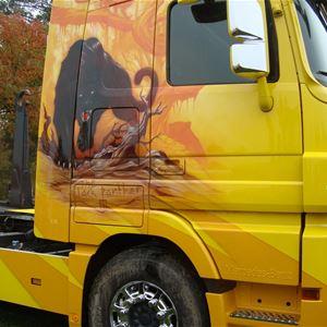 lastbilsträffen i Ramsele