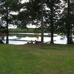 Lake Djupasjön Nature Camp