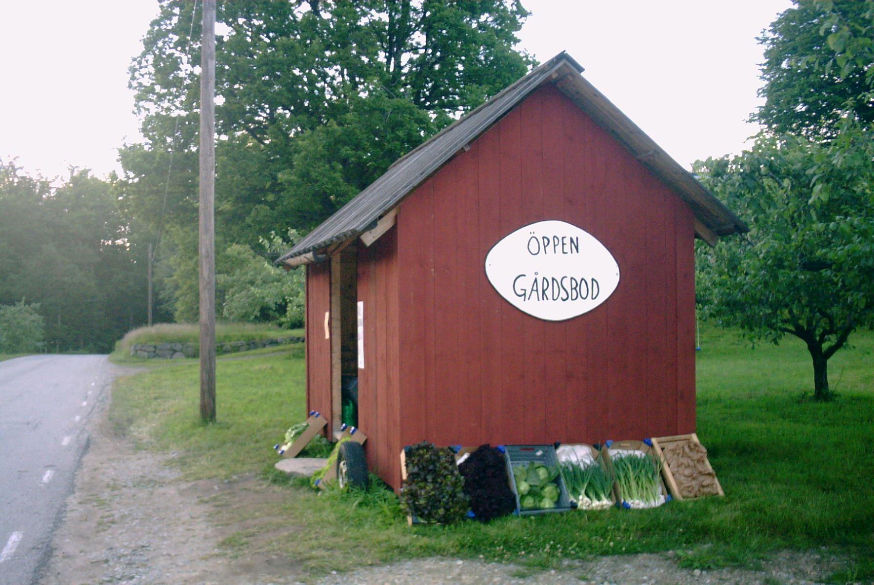 The Farm Shop in Ugglekull