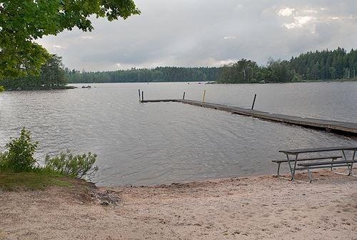Badplats Näset - Södra Sandsjö