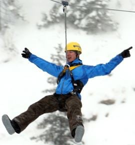 Zipline med Camp Åre