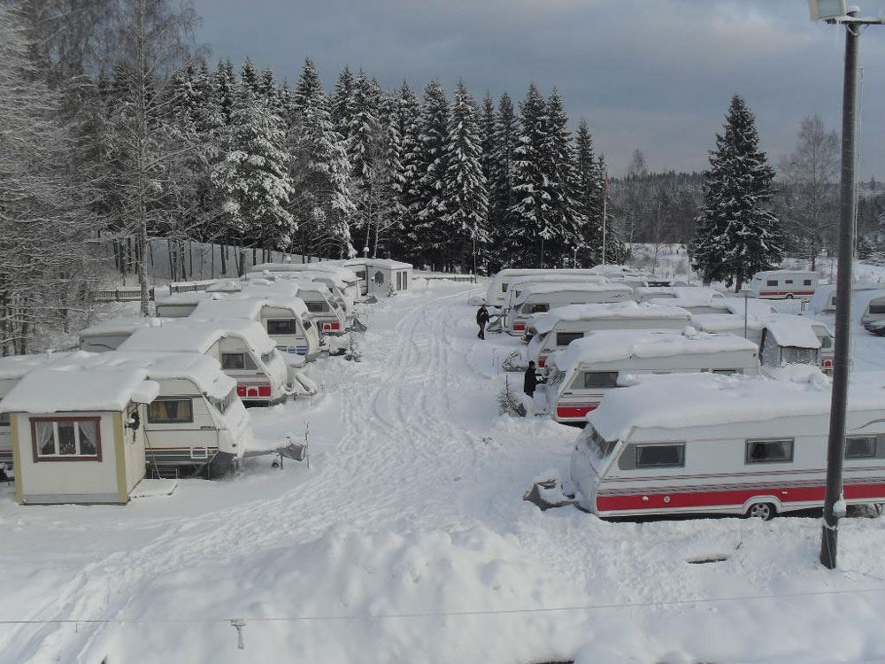 Vintercamping Kettilsås - Caravan Club