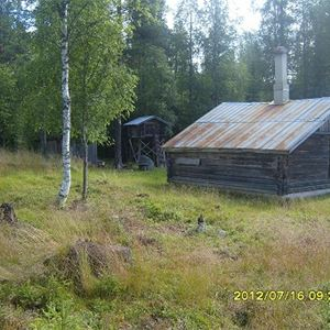 The old logging camp