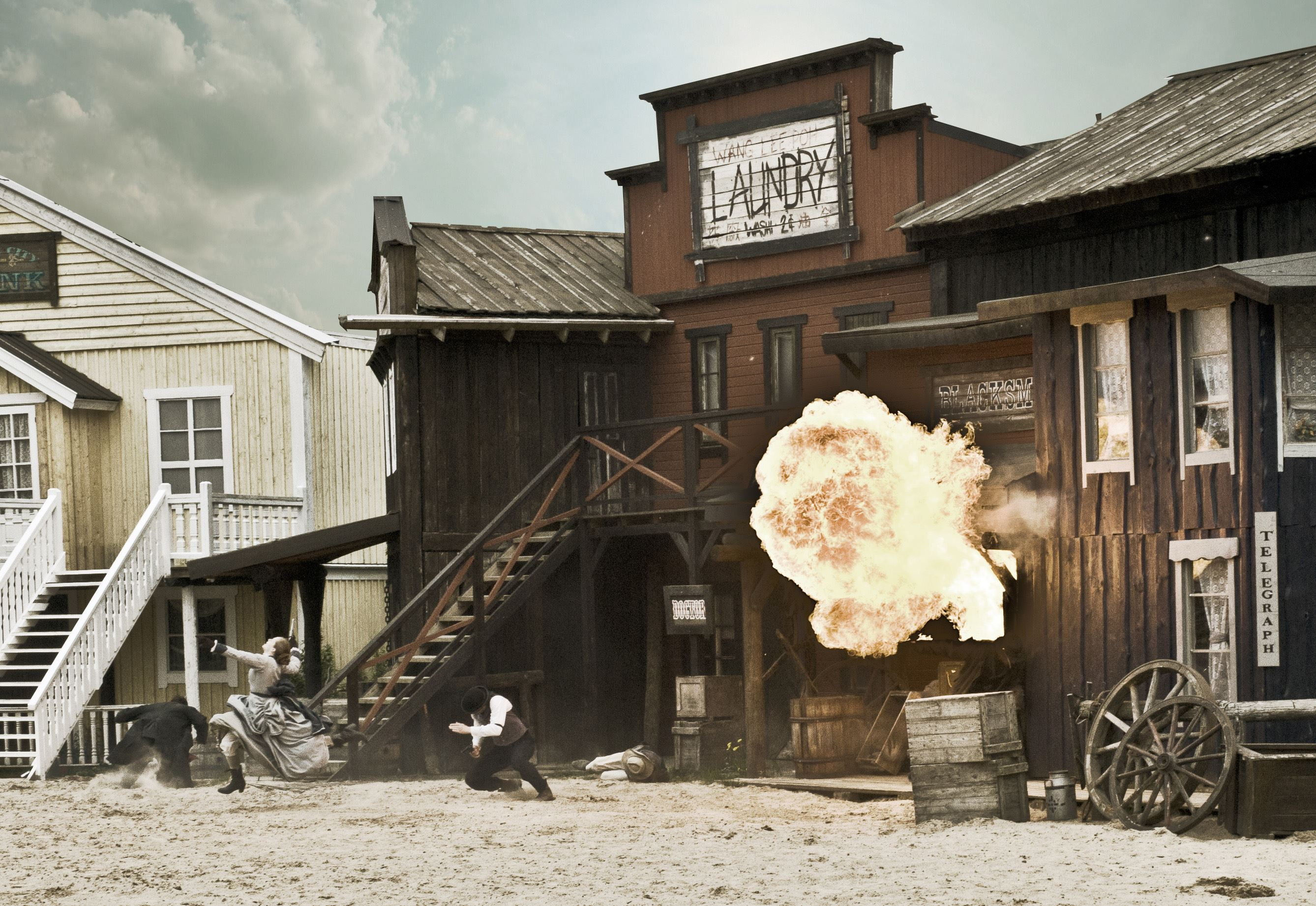 High Chaparral - Welcome to the Wild West
