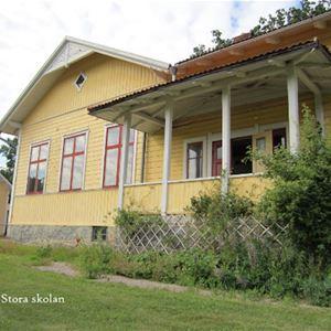 Privat,  © Privat, Boråkra B&B är inhyst i Boråkra gamla folkskola. Varje rum har därför fått namn med skolanknytning: Skolfrökens, skolvaktmästarens, träslöjden osv
