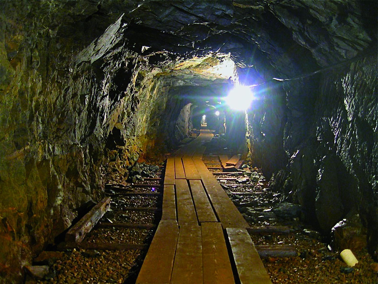© Kleva Gruva, Ingång i gruvan