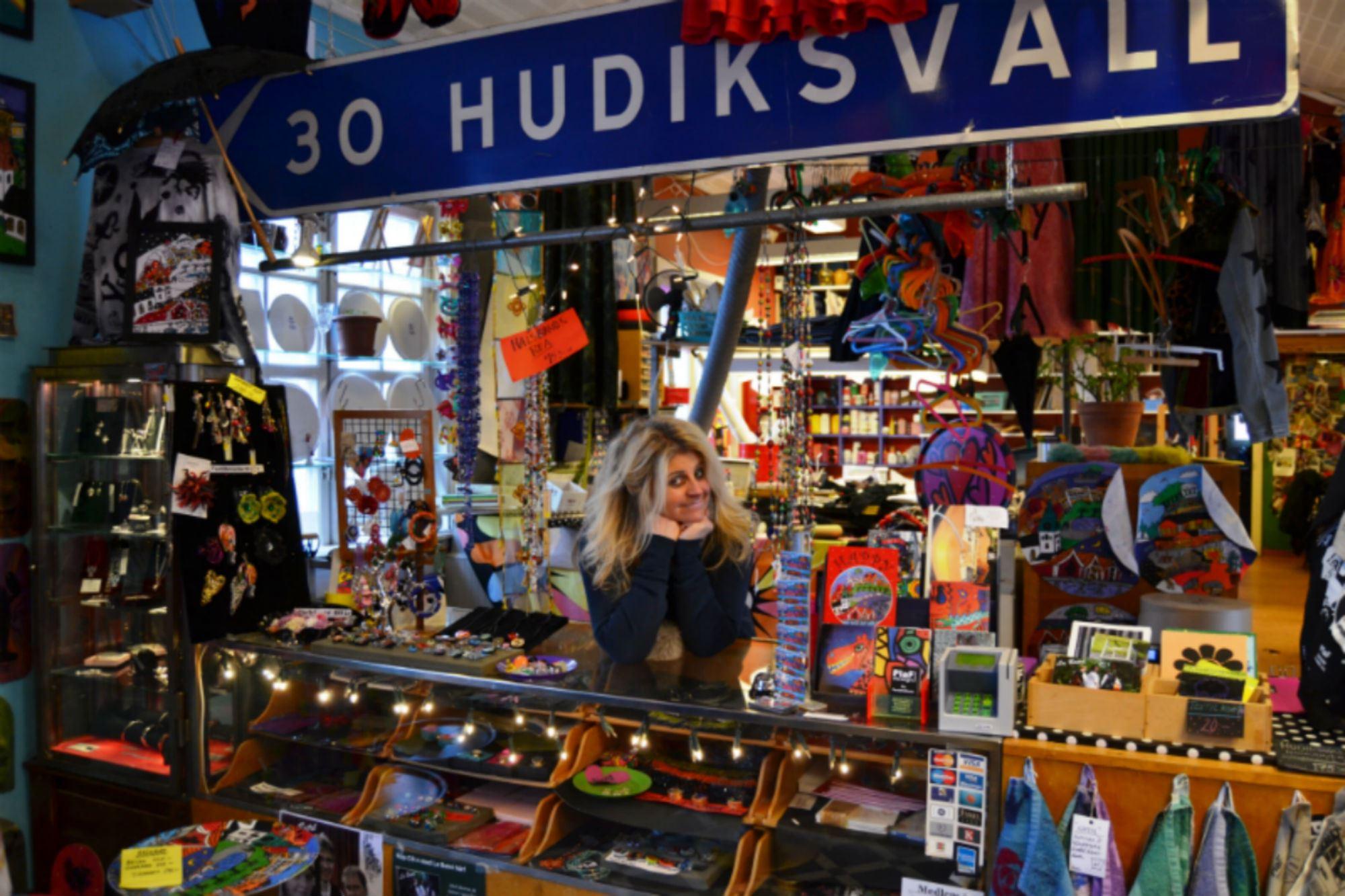 Ateljé & Butik Lilla Kyrkogatan 5 Hudiksvall, PiaF Design
