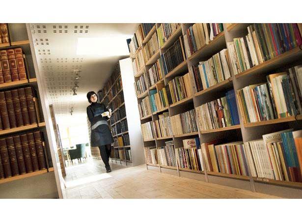 Marinmuseums bibliotek