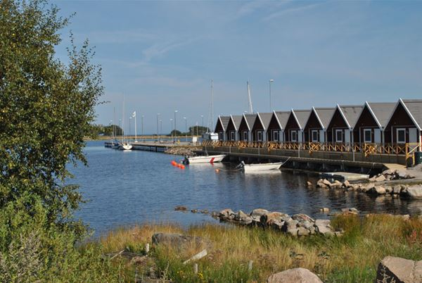 Sandhamn marine stugor gästhamn