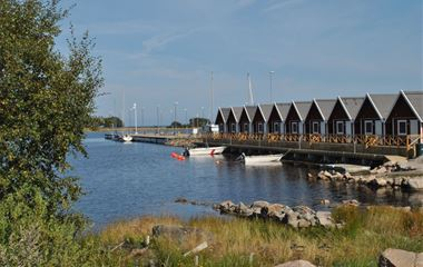 Sandhamn Marine cottages & parking for motorhomes