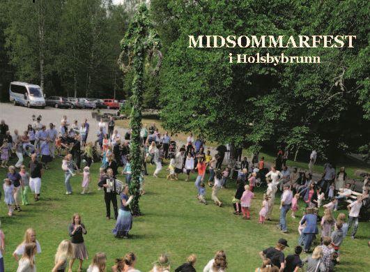 Midsummer in Holsbybrunn