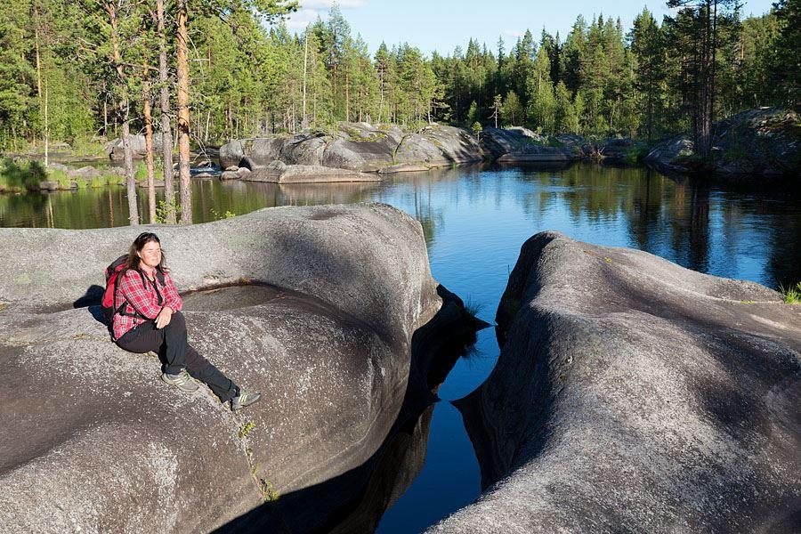 Calle Bredberg,  © Umeå Turistbyrå, Mårdseleforsen
