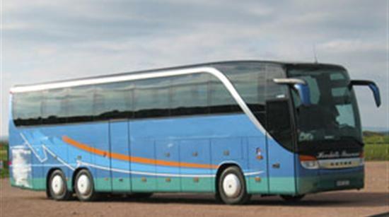 Regional buss med Länstrafiken