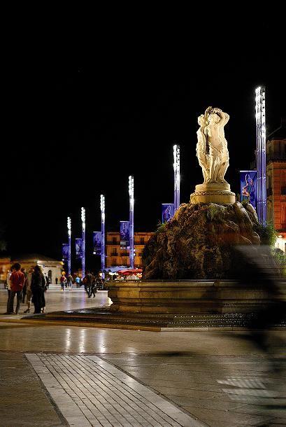 Visite guidée en Espagnol : Montpellier Por la Noche