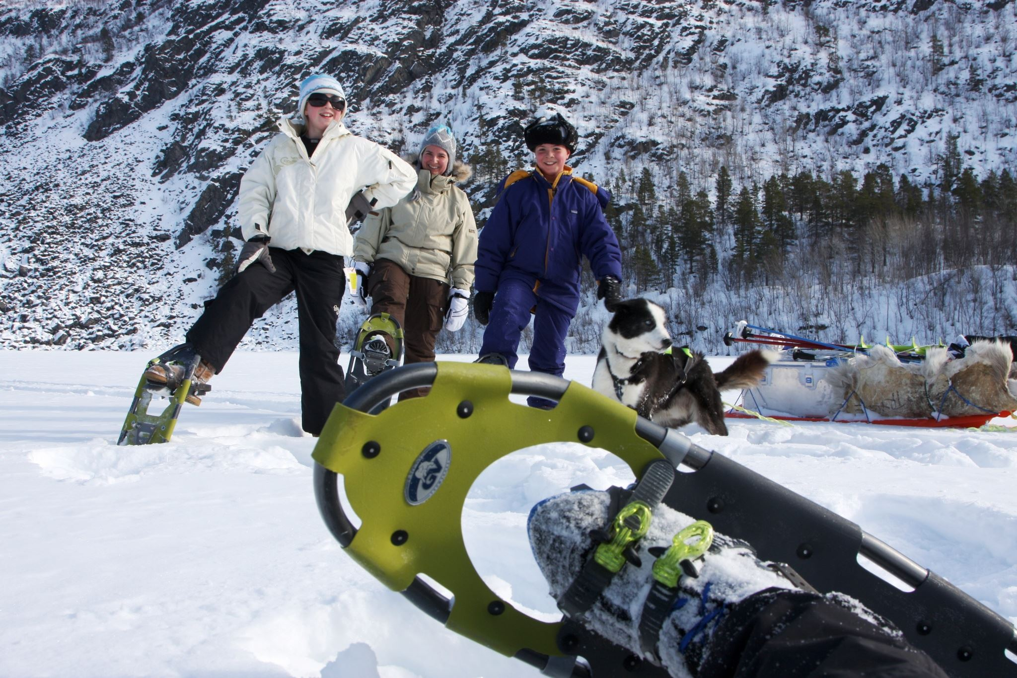 Snowshoeing - Glød Explorer