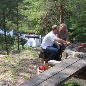 © Hätteboda Vildmarkscamping, Grillplats påHätteboda