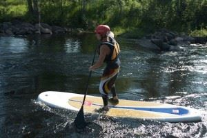 © Aurora Borealis adventure, Stand up paddling with Aurora Borealis Adventure