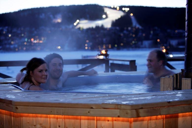 Vinterbadet-hyra för allmänheten