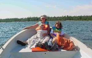 Boat trip with Damina at Holmön