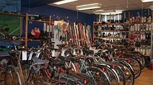 Cykel öppen gemenskap.