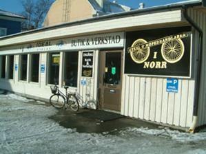 Cykel- och mopedhandlaren.