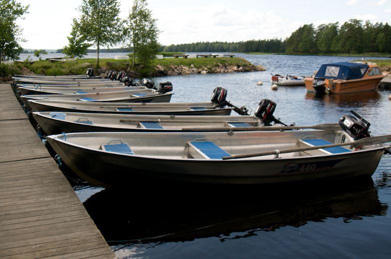 Mjölknabbens Camping och stugor, Fiskearrangemang