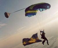 Parachuteing in Söderhamn