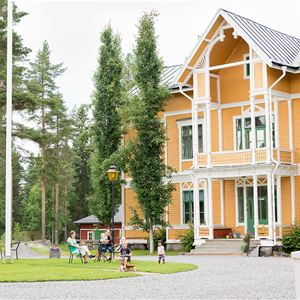 Calle Bredberg, Vandrarhemmet Fridhem