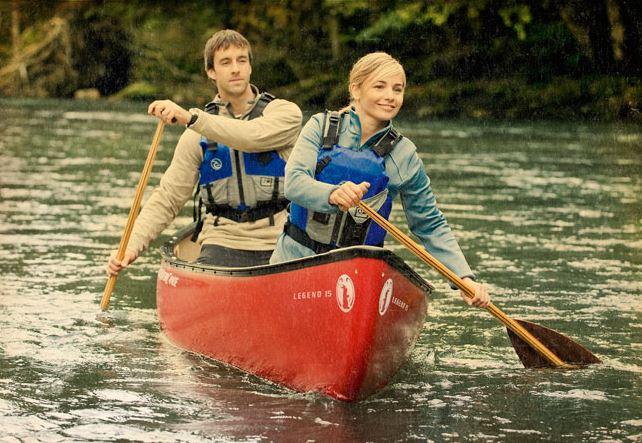 Rent a canoe