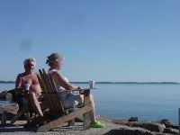 Café vid Vallviks Camping