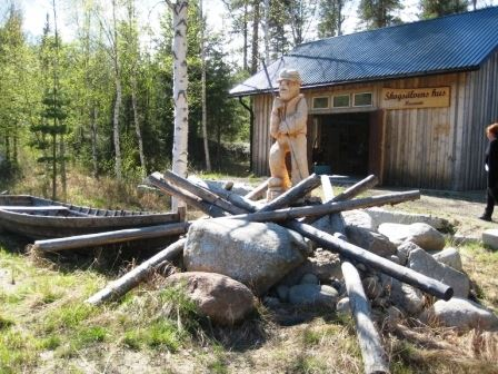 Malin Lagerlöf,  © Bjurholms kommun, Skogsälvens hus - Flottarmuseum