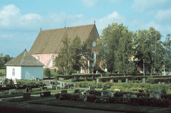 Die Kirche von Bygdeå