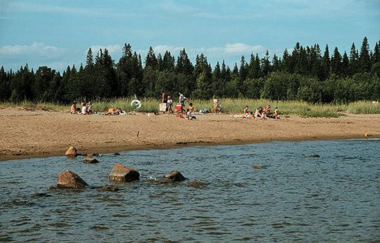Killingsand sea bathing