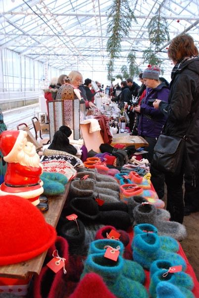 Christmas market at Forslunda