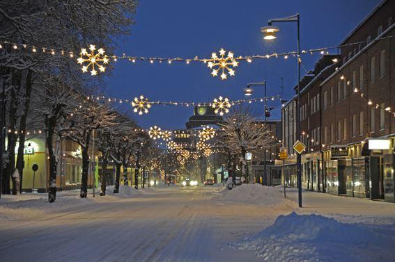 Nu tändas åter ljusen i vår lilla stad...