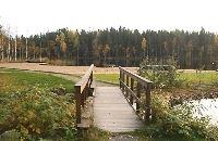 Badplats vid Ångersjön