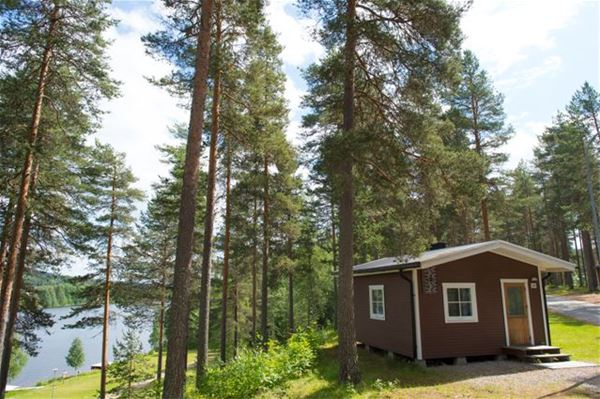 Hotel cabins at Granö Beckasin