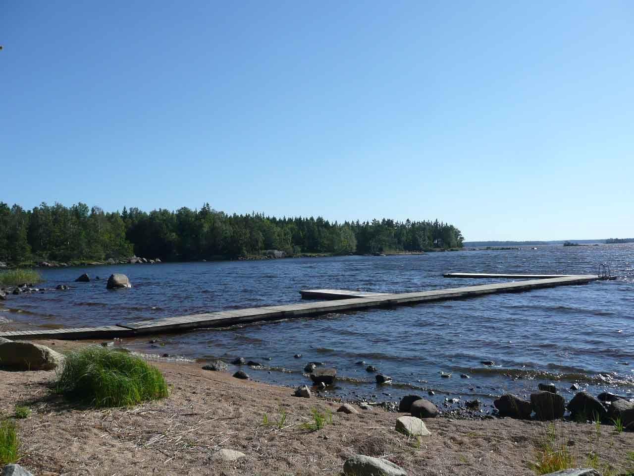 Badplats Ursjöbadet - Väckelsång/Åsnen