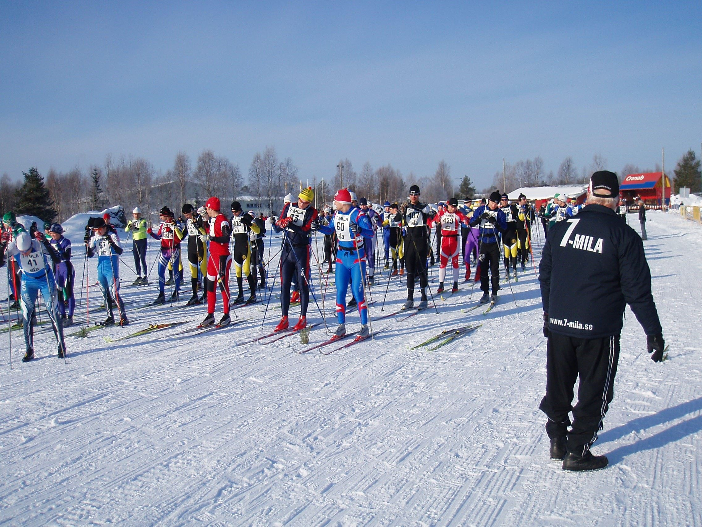 7-mila, Västerbottens skidfest
